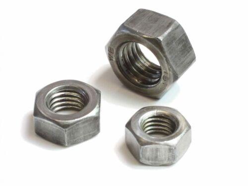 M14 DIN 934-8 8 Sechskantmuttern Stahl blank Muttern Sechskant-Muttern 20-500St