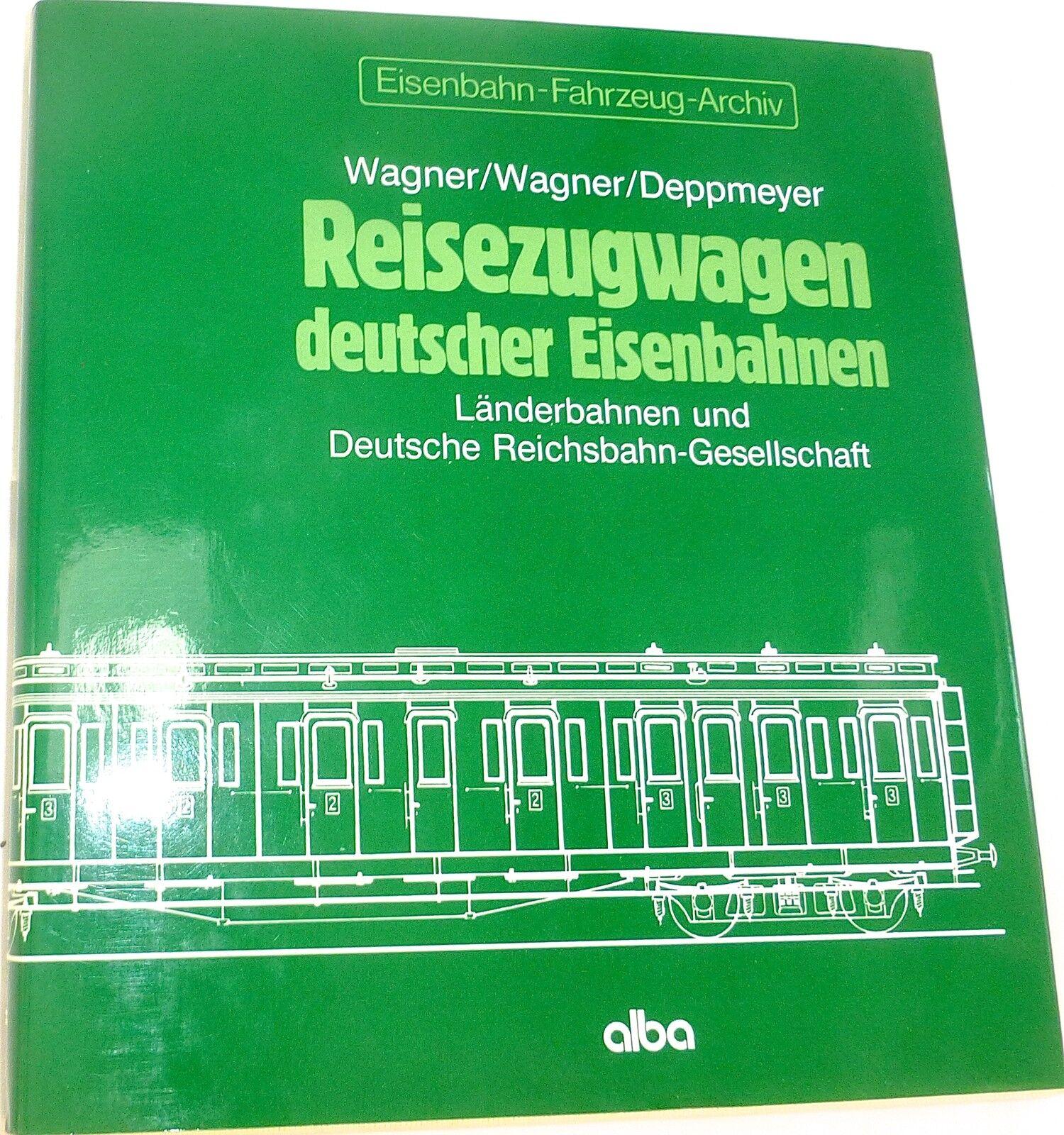 Reisezugwagen deutscher eisenbahnen länderbahnen DRG wagner deppmeyer Alba å
