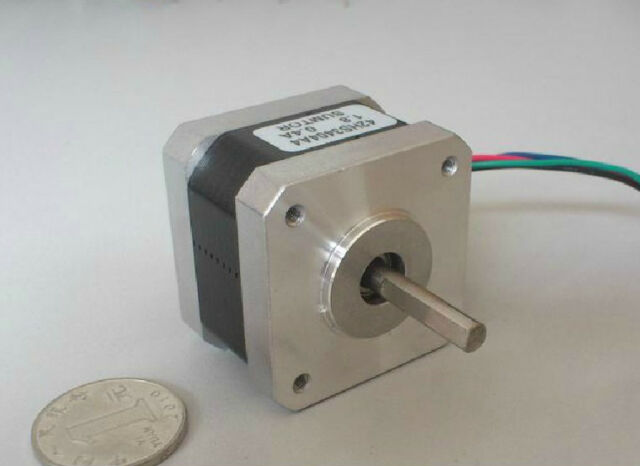 NEW CNC Nema17 Hybrid Stepper Motor DC12V 2-Phase 4000g.cm 4-Lead 1.8 Degree