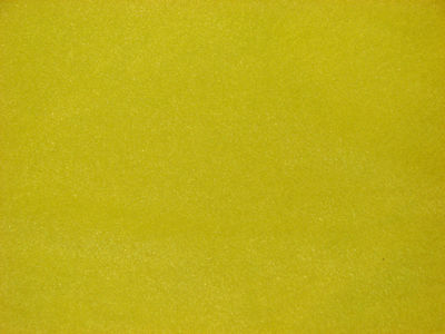 Bright Sunny Yellow Solid Color Fleece Fabric by the Yard   BTY