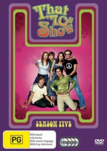 1 of 1 - That 70's Show : Season 5 (DVD, 2007, 4-Disc Set) Brand New Sealed Region 4