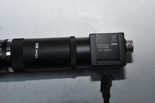 Details about  /SONY XC-ES50 CCD CAMERA /& 50mm LENZ /& IMAC IFV-C20W-M30-C01 LED-Beleuchtungen