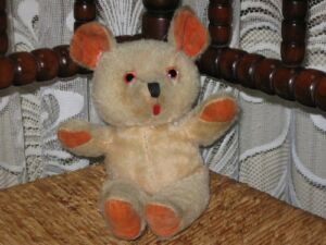 Old-Antique-German-Mohair-Bear-w-Tongue-amp-Squeaker