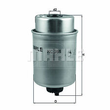 Various Heavy Duty Applications Mahle Fuel Filter KC20