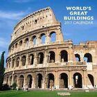 World's Great Buildings Calendar 2017 by Peony Press 9780754832652
