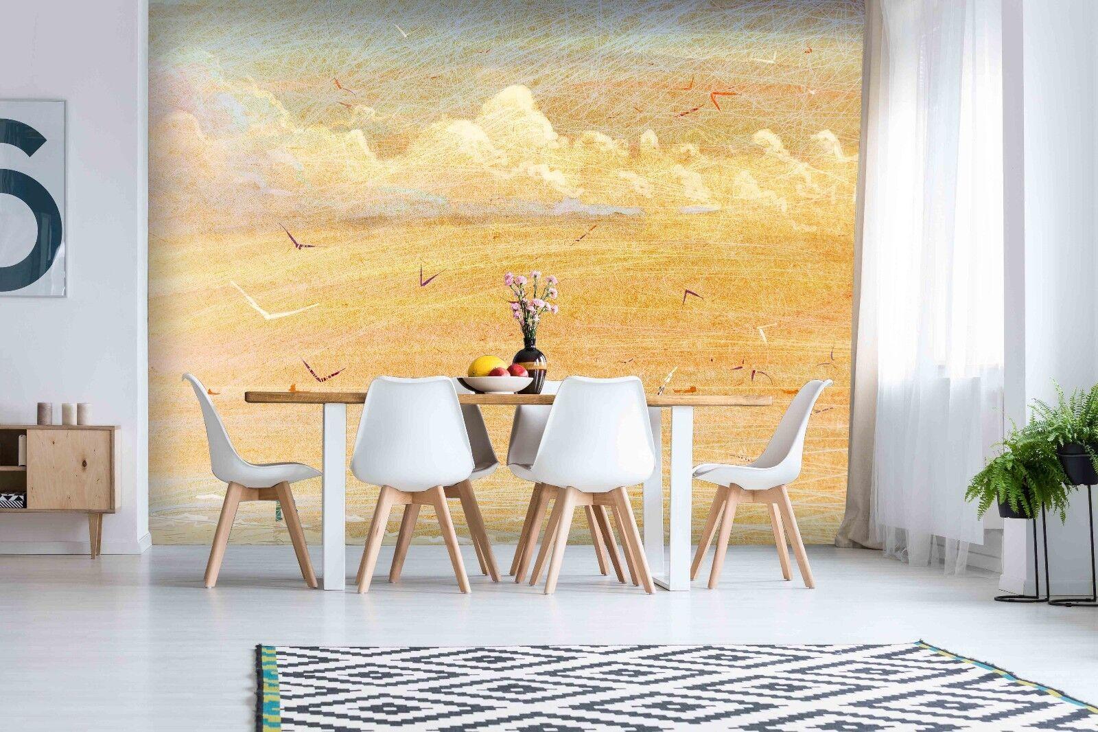 3D Desert Bird 792 Wall Paper Murals Wall Print Wall Wallpaper Mural AU Summer