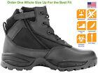 Maelstrom® PATROL 6'' Black Waterproof Composite Toe Safety Work Boots