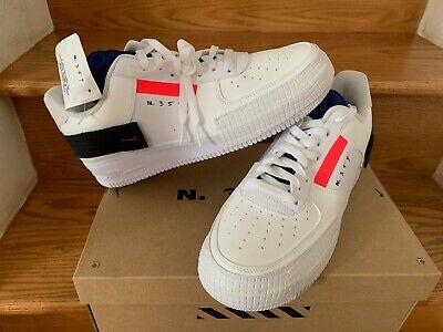 Nike AF1 AIR FORCE ONE 1 bassa Tipo Bianca da Uomo Bambini Da Donna GS 4Y 7Y CI0054 100 | eBay