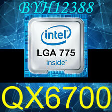 Intel Core 2 Extreme QX6700 2.66 GHz 1066 MHz CPU Quad-Core Processor 775 Socket