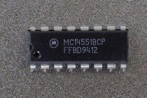 Motorola MC14551BCP Quad 2 Input Analog Multiplexer