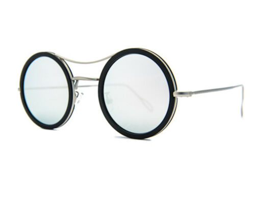 Kyme Ros 22 Shiny Silver White Mirrored Sunglasses