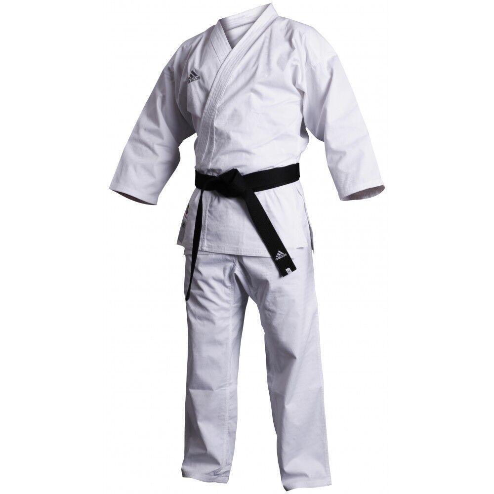 Neu adidas Karate Kumite Fighter WKF Martial Arts Uniform