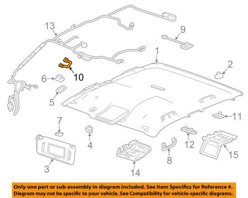 GM OEM Interior-Roof-Microphone 23399991