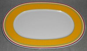 Villeroy & Boch SWITCH 1 PATTERN Oval Serving Platter MADE IN ...