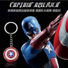 Flood hero captain America's shield Keyring Key Ring Chain Bag Charm Pendant