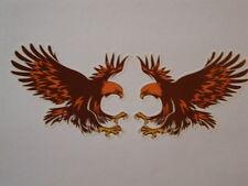 2 Golden Eagle pegatinas Southern Miss Rugby Moto Casco Honda Triumph