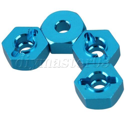 02134 5.8mm Dicke Blau 102042 Aluminium Spur Hex f