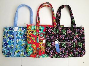 664bd5750a NWT! Vera Bradley Iconic Vera Tote - Choose Pattern - Free shipping ...