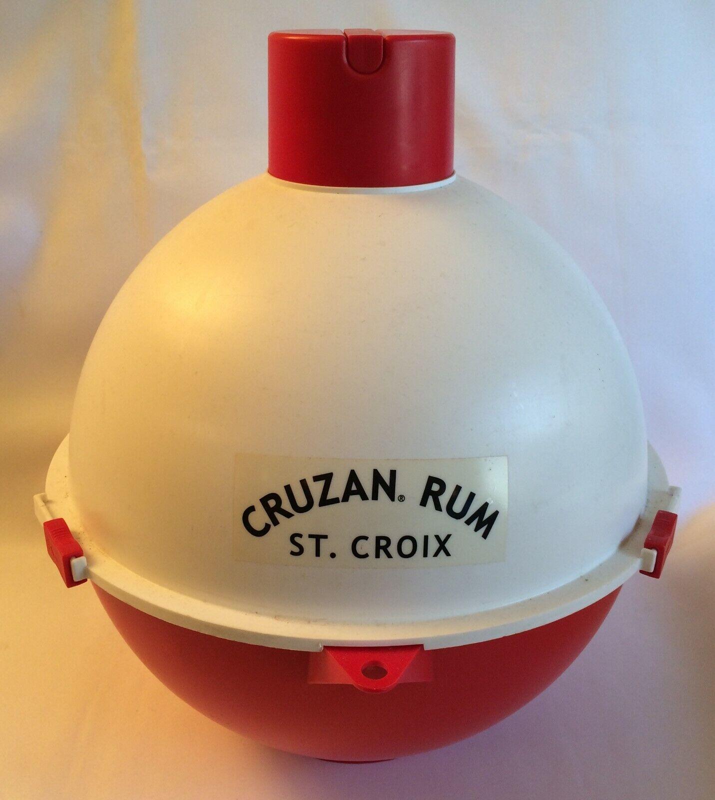 Cruzan Ron St Croix Publicidad Promo Enfriador FLOTANTE BOBBER