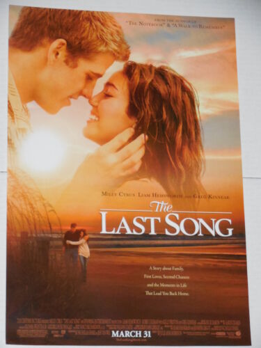 THE LAST SONG 13x19 PROMO MOVIE POSTER