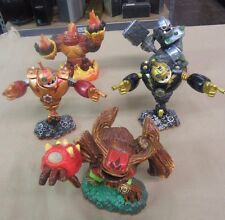 Lot of 5 Giants SKYLANDERS Figures Bouncer Crusher Hot Head Tree Rex