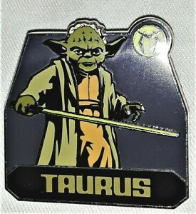 Disney-Star-Wars-Zodiac-Mystery-Collection-Taurus-Yoda-Only-Limited-Release-Pin