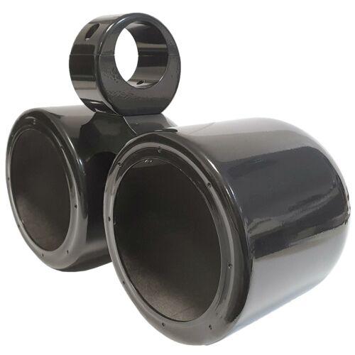 GALAXY Doppel-Gehäuse für Lautsprecher am Wakeboard-Tower Schwarz 165 mm