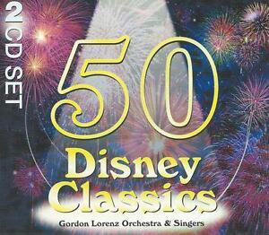 2-CD-album-50-DISNEY-CLASSICS-CHIN-CHIN-CHER-EE-HAKUMA-MATATA-CIRCLE-OF-LIFE