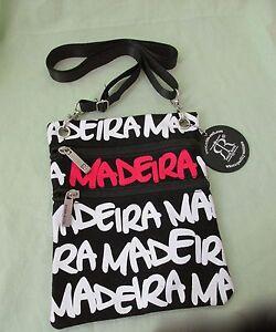 borsa Nero Piccola bianco Maderia rosso Ruth Portafoglio Lady Per Nuovo Robin 0ROTqA
