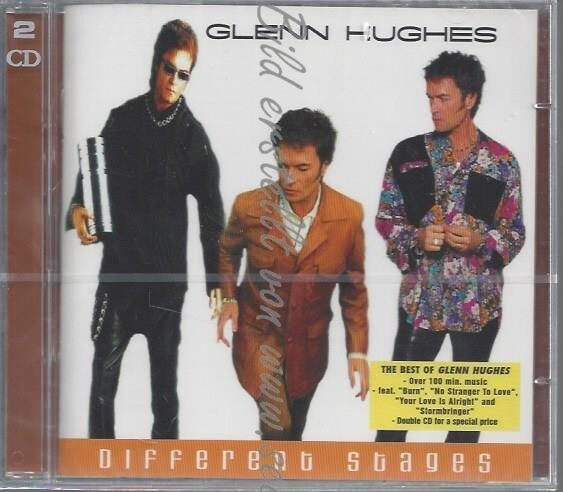 CD--GLENN HUGHES--DIFFERENT STAGES-THE BEST OF | DOPPEL-CD