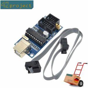 USB-Tiny-ISP-Programmer-mit-Kable-6-10pin-fur-AVR-ATMEGA-Arduino-Programmierer