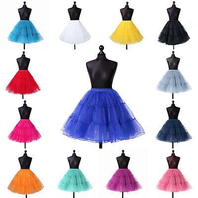 Haben Sie Einen Fragenden Verstand Petticoat Tüllrock Reifrock Tütü Ballettrock Unterrock S-xxxl Lafairy Lange Lebensdauer Kleidung & Accessoires