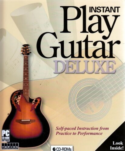 Instant Play Guitar Deluxe Self-Paced Instruction from Practice to Performance