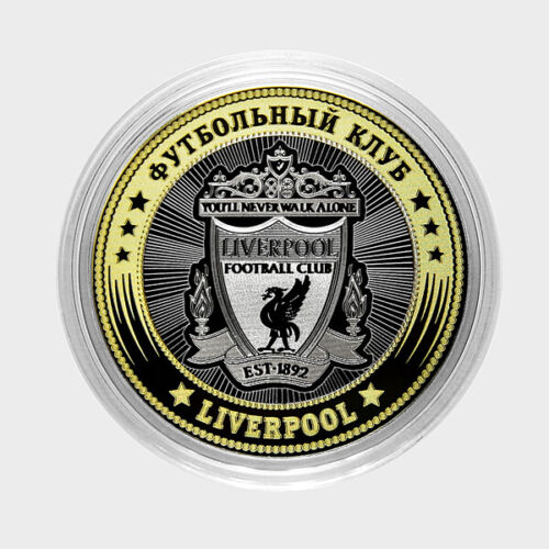 Coin 10 rubles football club LIVERPOOL Russia