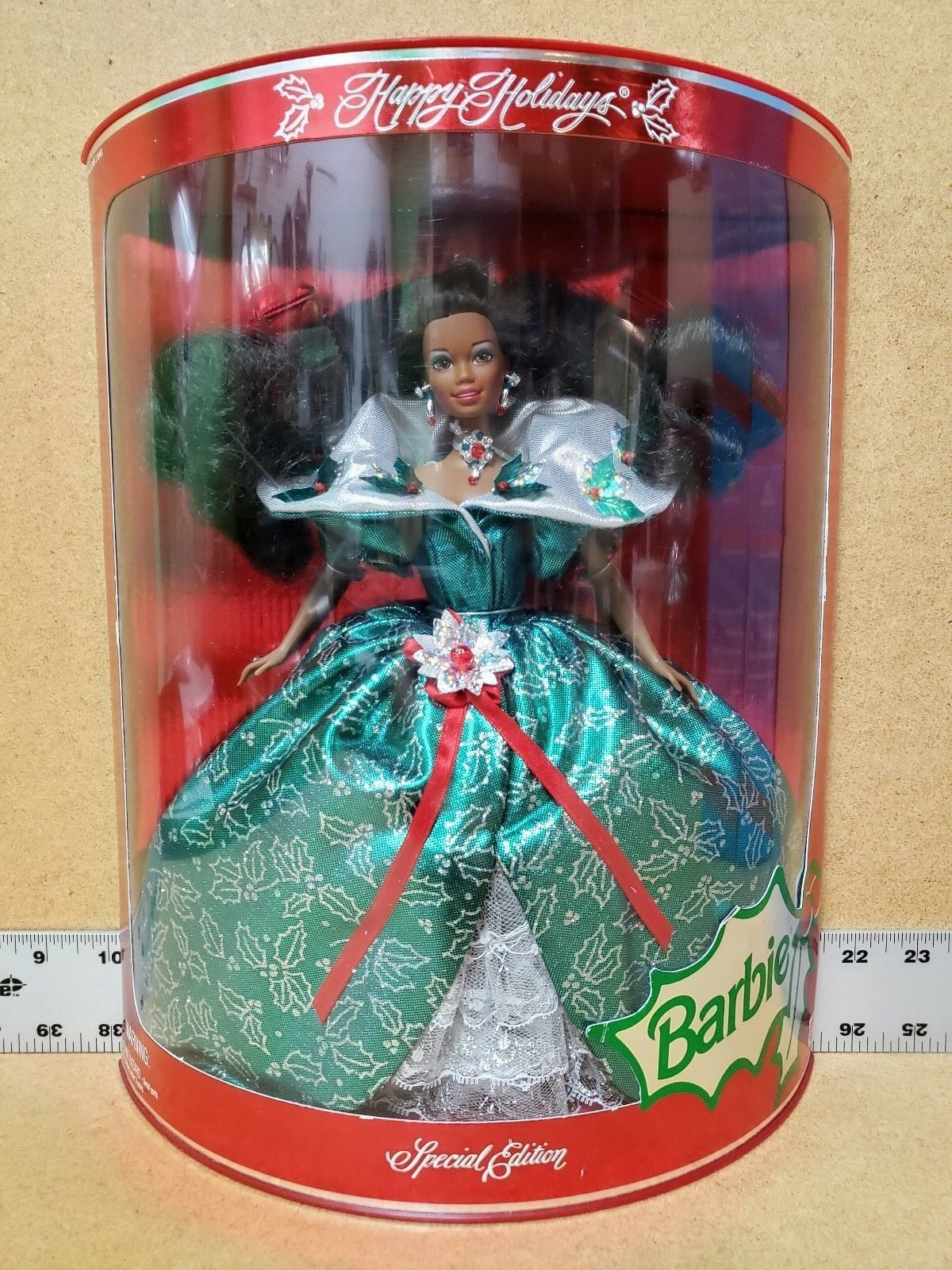 1995 HAPPY HOLIDAYS SPECIAL EDITION EDITION EDITION AFRICAN AMERICAN BARBIE 7a5d1e