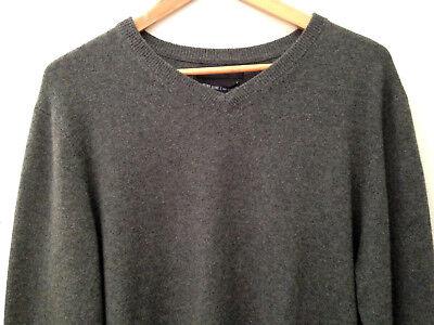 NWT Tahari Pure Luxe 100% Cashmere Men's Handsome Green V Neck Sweater M $245 | eBay