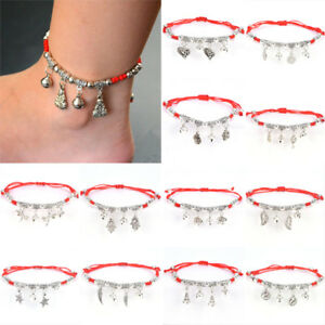 LJshion-Women-Lucky-Handmade-Rope-Woven-Alloy-Adjustable-Bracelet-Bangle-LJ