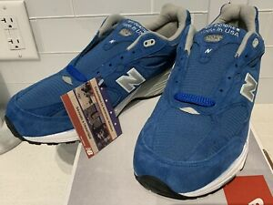 e36dd03ddccb3 NIB New Balance 993 Running Shoes Made In USA Blue Suede US993BL ...