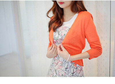 Womens Casual Knitted Long Sleeve Cardigan Sweater Coat Jacket Outwear  Knitwear