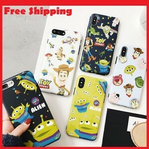 bea075d592 Details about Cute Cartoon Toy Story Alien Hot Silicone Cover Back Case for  iPhone X XR XS MAX