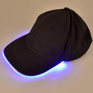 LED Basecap Baseball Kappe Licht Lampe Mütze Angeln Hut Cap ...