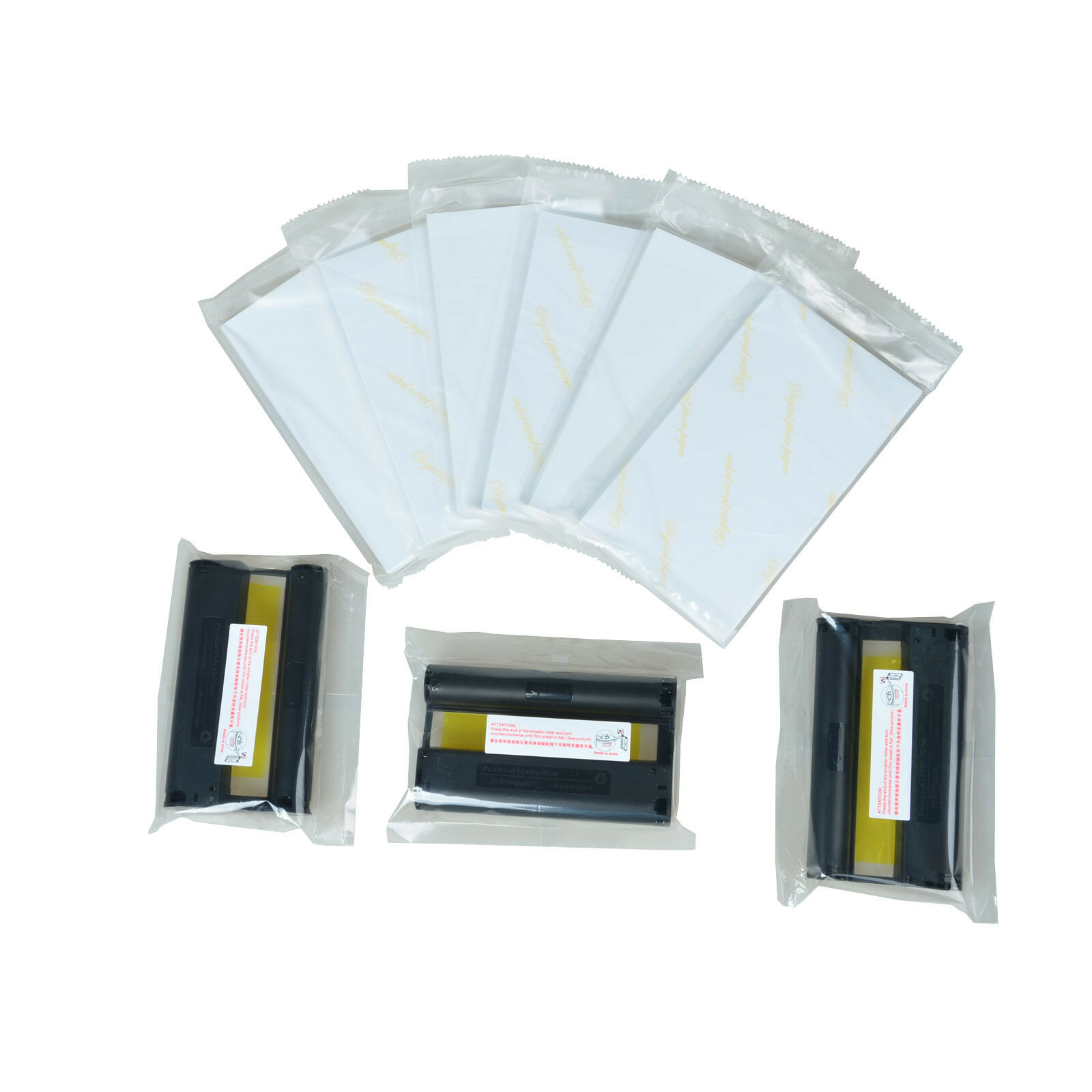 4PK KP-108IN Color 3X Ink /& 108 Paper Set for Canon Selphy CP910 CP1200 CP1300