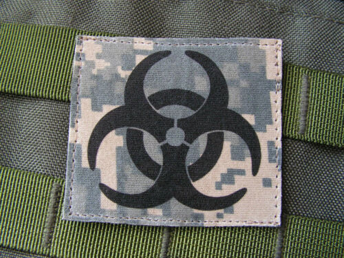 Us Zombie zombiland NRBC NBC acu digital SOFT :. BIO HAZARD Snake Patch ..: