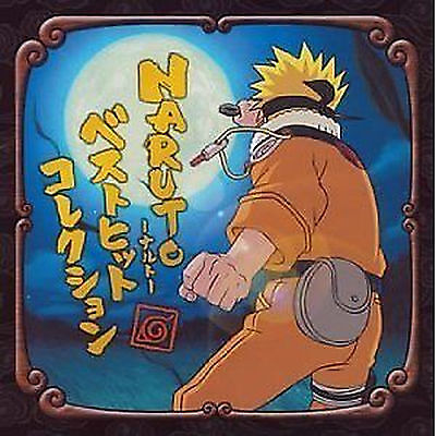 Naruto anime soundtruck CD Music Japanese Best Hit Collection