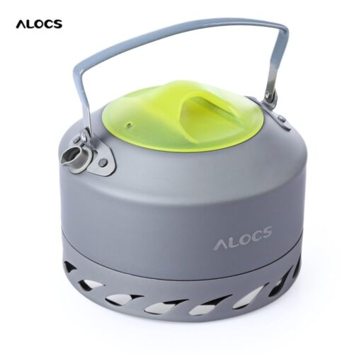 0.9L Outdoor Aluminum Alloy Camping Picnic Coffee Water Kettle Teapot Cookware