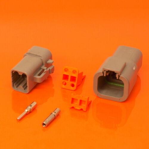 Genuine Deutsch DTP Series Assorted Electrical Connector Box Set 68 Pieces