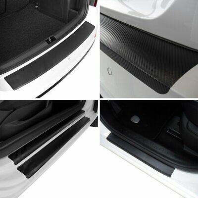 Carbon Style Einstiegsfolien /& Ladekantenschutz mit Chrom-Schriftzug