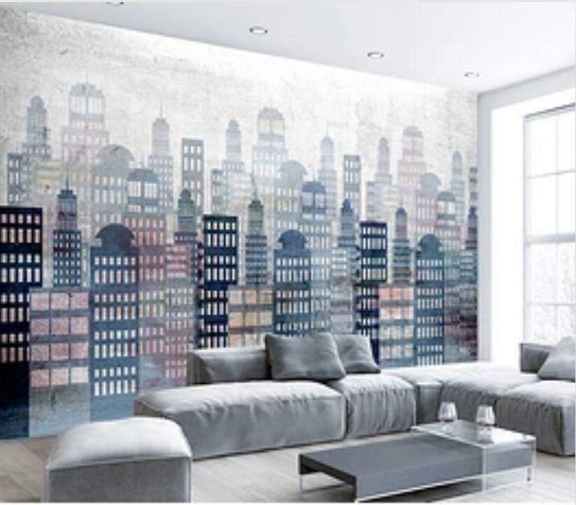 3D Building Painting I1905 Wallpaper Mural Sefl-adhesive Removable Sticker Wendy