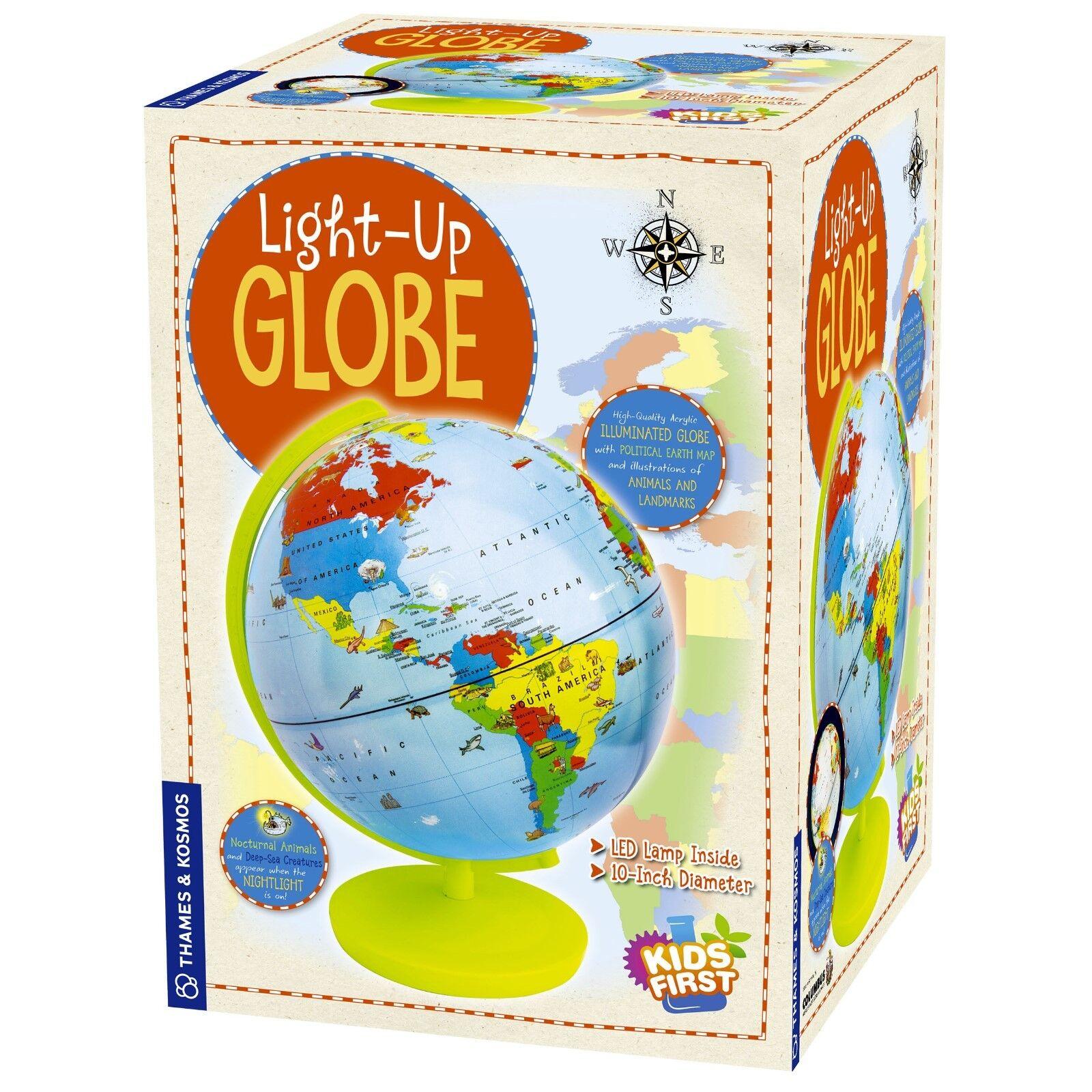 Light-Up Globe Kids First Thames & Kosmos Acrylic Illuminated Globe 673024