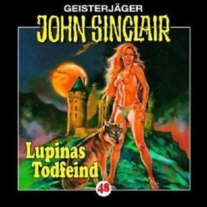 JOHN-SINCLAIR-FOLGE-48-LUPINAS-TODFEIND-TEIL-2-VON-2-CD-NEW